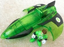 Fisher Price Imaginext - DC Super Friends - GREEN LANTERN JET Plane With Figure