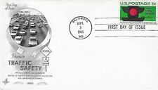 U.S. 1965 Traffic Safety Scott #1272 on an ArtCraft Fdc Cachet