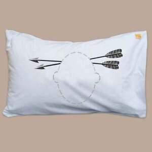 Twisted Twee Pillowcase - Arrows