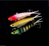 3x Soft Plastics Transam Fishing Lures Vibe Barra Bream Bass Flathead 95mm 20g
