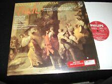 BACH°CANTATAS<>RAYMOND LEPPARD<>Lp Vinyl~Neth. Pressing<>PHILIPS 6514 097