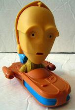 Star Wars McDonald's Toy C3PO Bobblehead Landspeeder 2008 Clone Happy Meal
