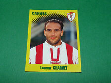 N°66 LAURENT CHARVET AS CANNES ASC LA BOCCA PANINI FOOT 98 FOOTBALL 1997-1998