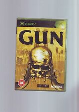 GUN - WESTERN FPS GTA ON HORSEBACK - XBOX GAME - FAST POST - ORIGINAL & COMPLETE