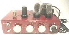 vintage* BIG SOUND Rebuilt CHALLENGER 4 TUBE POWER AMP -Guitar BASS harp PA