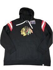 Fanatic CHICAGO BLACKHAWKS HOODIE Men's SZ 3XL Brand New NHL