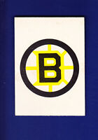 Boston Bruins Team Records 1977-78 O-PEE-CHEE OPC Hockey #323 (VGEX)(ST)