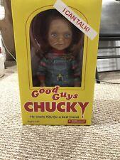 "Mezco Child's Play 2 Good Guys Talking Chucky Doll 15"" Figure - BRAND NEW!"