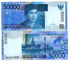 INDONESIA 50000 50.000 RUPIAH 2005/2005 UNC P 145 a