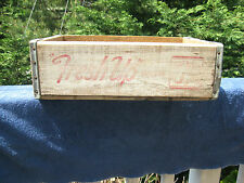 "Vintage "" Fresh Up with 7up"" Wooden Crate Miller Mfg. Co. Richmond Virginia"