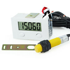 1.5V LCD Digital 5-Digit 20HZ Tally Punch Counter + Proximity Switch + Support