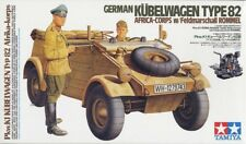 Tamiya 1/16 Kubelwagen Type82 Africa Plastic Model Kit 36202 TAM36202