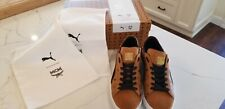 Authentic PUMA X MCM Classic Limited Edition Leather Sneakers size EU46
