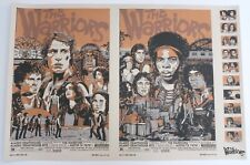 THE WARRIORS MONDO POSTER BY TYLER STOUT LIMITED EDITION SCREEN PRINT