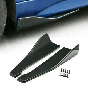 48cm Skirt Spoiler Rear Lip/Side Extension Rocker Splitters Winglet Wings GZ