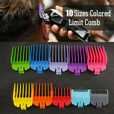10PCS For WAHL Hair Clipper Comb Stock Guide Trimmer Guards Attachment Kit A4167