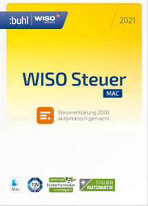 WISO Steuer-Mac 2021 (für Steuerjahr 2020), Download (ESD), Mac