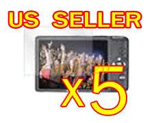 5x Canon ELPH 100 Clear LCD Screen Protector Cover Guard Shield Film