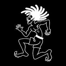Rasta Man Vinyl Car Window Decal Bumper Sticker