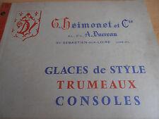 catalogue de glaces , consoles , Saint Sebastien sur Loire 44 Loire Atlantique