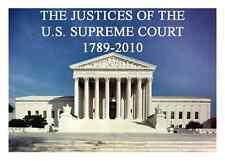 SUPREME COURT JUSTICE CARDS - JOHN JAY THRU BRETT KAVANAUGH