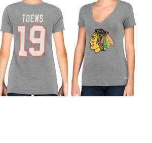 CCM NHL Chicago Blackhawks #19 Hockey Shirt New Womens Sizes