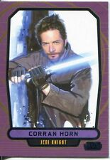 Star Wars Galactic Files 2 Blue Parallel Base Card #546 Corran Horn