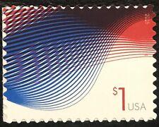 2015 Scott #4953 - $1.00 - PATRIOTIC WAVES - Single Stamp - Mint NH