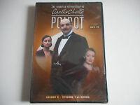 DVD NEUF - AGATHA CHRISTIE / POIROT DVD 19 / SAISON 6 / EPISODES 1 ET BONUS - ZO