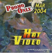 PROMO ONLY- NEW!, DVD HOT VIDEO, MAR.-2004, Beatles,Pink,Blink 182,G-Unit,