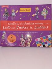 Roald Dahl Charlie And The Chocolate Factory Snakes And Ladders Board Game Ludo