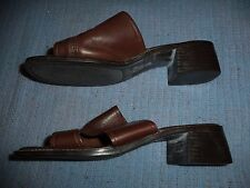 THE LEATHER COLLECTION SANDALS WOMEN'S SIZE 7