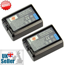 High Capacity DSTE 2x NP-FW50 1950mAh Rechargeable Li-ion Battery For Sony New