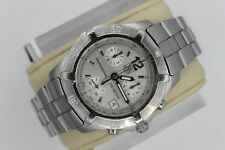 Tag Heuer CN1111.BA0337 Professional Silver Chronograph Watch Mens Mint Crystal