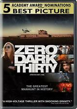 Zero Dark Thirty - DVD [Region 1/A, War, Thriller, Historical Drama, Action] NEW