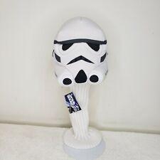 NWT Star Wars StormTrooper Plush Golf Club Head Cover Storm Trooper White