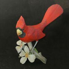 Porcelaine Allemande, Cardinal en biscuit rouge, H : 14 cm