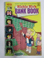 RICHIE RICH BANK BOOK #14 (Harvey, 12/1974) VERY GOOD-FINE (VG-F)