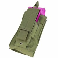 Condor MA50 MOLLE PALS Tactical Single Open Top Rifle Pistol Magazine Pouch