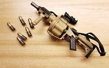 1/6 Scale ICS GLM 6 Round Revolver Grenade Launche custom for 12 inch figure gun