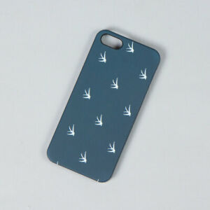KING APPAREL - British Streetwear - Swallows Armoured iPhone Case - Navy [NEW]