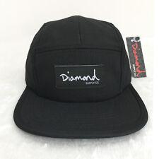 Diamond Supply Co. 5 panel cap Baseball Caps Men Black cap summer dad hat unisex