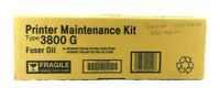 Genuine Ricoh 400549 TYPE 3800G Fuser Oil Maintenance Kit OEM New Free Shipping