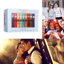 9Pcs Women Mini Perfume Gifts Set City Fragrances Kit Spray Aromatic Water 3ml