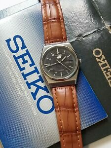 Vintage 1970's SEIKO men's Watch 17 jewels automatic + extras - working well