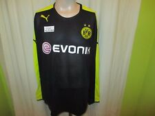 "Borussia Dortmund Puma Manches Longues dehors maillot 2013/14 ""Evonik"" TAILLE XXL NEUF"