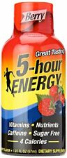5 Hour Energy Drink, Berry, 1.93 oz (6 Bottles) (5 Pack)