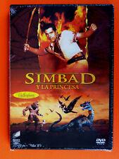 SIMBAD Y LA PRINCESA - The 7th Voyage Of Sinbad - DVD R2 - Precintada