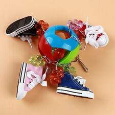 Pets Chew Bite Sneakers Pattern Ball Cage Bird Parrot Parakeet Cockatoo Toys 6A