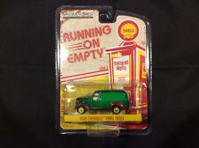 Greenlight 1:64 Running Empty 1939 Chevy Panel truck Shell Oil GREEN MACHINE
